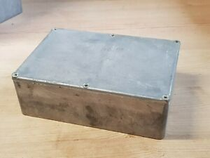 Vintage Die Cast Aluminium Project Box / Enclosure 170x120x55 - Medium