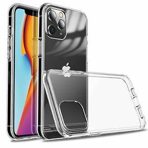 Apple iPhone 12 Transparent Handy Schutz Hülle Cover Case Bumper