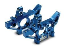 Traxxas 4929x posteriore paratie alluminio Blu 2.5/3.3 T - Maxx E-maxx S-maxx