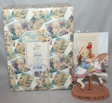 "Cherished Teddies Gina ""Where Friends Gather."" Figurine #502898 1998 By Enesco"