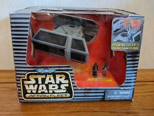 STAR WARS Action Fleet - DARTH VADER TIE FIGHTER US - Galoob Micro Machines