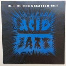 "The James Taylor Quartet Creation Remix EP UK 10"" single +Picture Sleeve"
