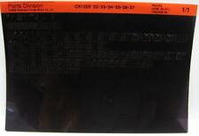 Honda CR125R 2002 - 2007 Parts List Microfiche h201