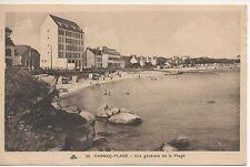 Cpa carte postale 56 Morbihan Carnac Plage
