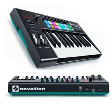 keyboard controller tastiera midi usb NOVATION LAUNCHKEY 25 MKII pc mac ipad