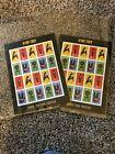 "STAR TREK ""Forever"" USPS 1st Class Postage Stamps 2 full sets"