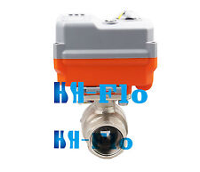 """HSH-Flo DN20 3/4"""" 2 Way Electrical Motorized Control Proportional Integral Valve"""