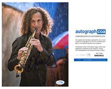 Kenny G Saxaphone Signed Autographed 8x10 Photo EXACT Proof ACOA Authenticated C