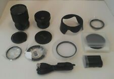 Mixed lot of Camera Lenses & Accessories ~ Opteka, Rokinon, Tristar ~ Preowned