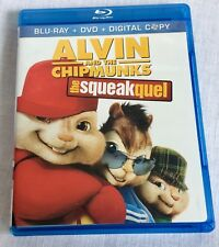Alvin and the Chipmunks The Squeakquel Blu-ray DVD 2010 3-Disc Set