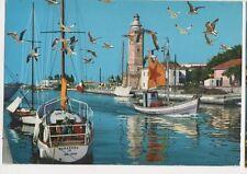 Rimini Porto Canale e Faro 1986 Postcard Italy 342a ^