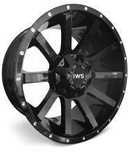 4 NEW Wheels 20x10 -12 IWS 1263 Gloss Black 6x135 6x139.7 Rims SET