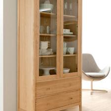 Willis & Gambier Spirit Range, Wide Display Cabinet in Oak NEW IN BOX