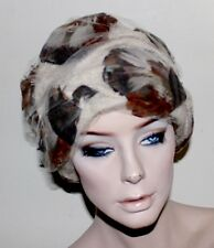 Christian Dior vintage feathered wool and tulle hat