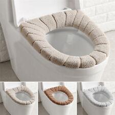 Bathroom Toilet Seat Closestool Washable Soft Warmer Mat Cover Pad Cushion AP
