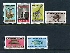 Colombia 713-15 C357-59 MNH, Spider monkey, Ant bear, Armadillo, Parrot   x23542