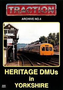 Traction Archive No.4: Heritage DMUs in Yorkshire - DVD