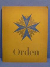 Original Nazi Era German Cigarette Card Album, MEDALS, ORDEN !!!!!