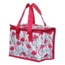 Lesser & Pavey Flamingo Bay Pink Insulated Lunch Bag School Packed Picnic Kids