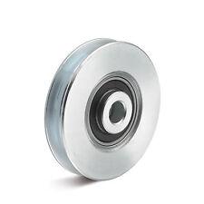 Seilrolle aus Stahl mit Kugellager Durchmesser 50mm Tragkraft 85kg