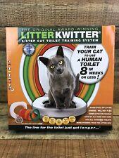 Brand New Litter Kwitter Cat Toilet Training System Lk-1