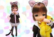 AUTH RARE MAMACHAPP Hiyo Chan Car Ear Ver. Lolita Brown Hair 1/6 Doll