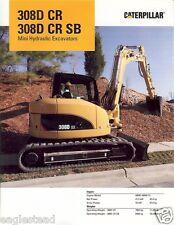 Equipment Brochure - Caterpillar - 308D CR SB - Mini Excavators - 2008 (E1750)