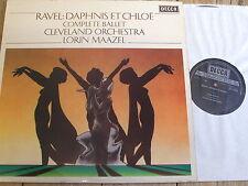 SXL 6703 Ravel Daphnis et Chloe / Maazel