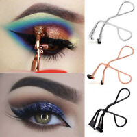 Mini Eyelash Curler Curling Clip Scissor Tongs Eye Lash False Make Up Tools