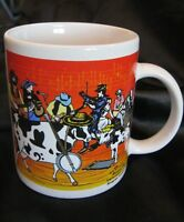 Moosical Cows Coffee Mug 2003 Bluegrass Cowtown Band Philharmoonic Orchestra