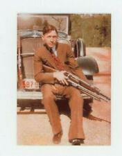 Clyde Barrow - Color METAL Trading Card - Bank Robber Murder - Bonnie and Clyde