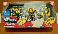NEW Transformers The Legacy of Bumblebee 3-pack Walmart Exclusive (Seal Broken)