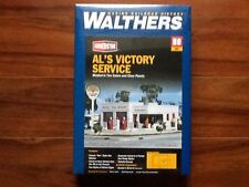 Walthers 1/87 HO CORNERSTONE AL'S VICTORY SERVICE ITEM # 933-3072 FACTORY SEALED