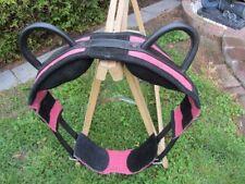 NEU Voltigiergurt , Gr. K-Pony  Umfang  1,20-1,55m  rosa  / magenta