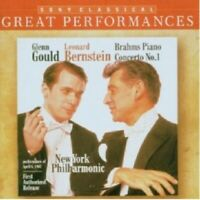 GLENN GOULD/LEONARD BERNSTEIN - GREAT PERFORMANCES/KLAVIERKONZERT 1  CD NEW