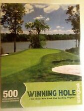 Springbrook jigsaw Puzzle Winning Hole 500 Piece New