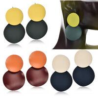 Women Retro Acrylic Resin Geometric Dangle Drop Statement Earrings Jewelry NEW H