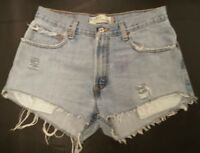 "Levi's High Waist Shorts ""Mom Jeans"" Med/light Wash Size 2 5 8 10 12 14 16 18"