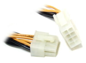 ATX 8-Pin Male To Female Extension Power Cable Power Supply Cord Extension