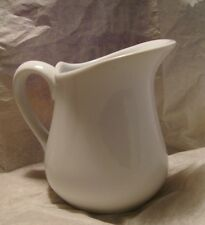 BIA Cordon Bleu White Creamer Ceramic Pitcher 8 0z. Very Nice