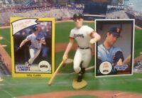 1990  WILL CLARK - Starting Lineup - SLU - Figure & (TWO) Cards - SAN FRANCISCO