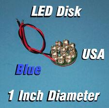 LED DISK - BLUE 1 INCH DIAMETER CIRCUIT BOARD 5MM LEDs