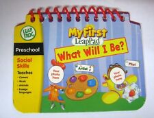 My First Leap Pad Book What Will I Be First Day of School Insert Child's Photo