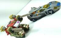 Hasbro Transformers Armada Demolisher Deluxe Blurr Super-Con 2002 2005 LOT OF 2