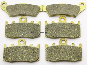 Front Rear Brake Pads For BMW R1150 R 1150 GS Adventure Evo 2001 2002 Brakes Pad