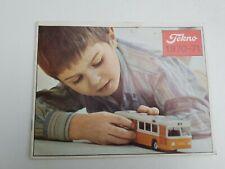 Ancien Catalogue Tekno époque Dinky Toys 1970-1971