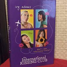 The International Kissing Club by Ivy Adams HC DJ Free Shipping
