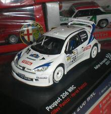 IXO ALTAYA RALLYE ACROPOLIS PEUGEOT 206 WRC 2001 DIECAST ECHELLE 1:43 NEUF OVP