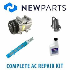 Ford Bronco 1990-1993 5.0L 5.8L NEW AC A/C Repair Kit W/ OEM Compressor & Clutch