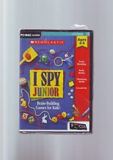 I SPY : JUNIOR - BRAIN BUILDING PC & MAC GAME FOR KIDS AGED 3-5 YEARS - NEW